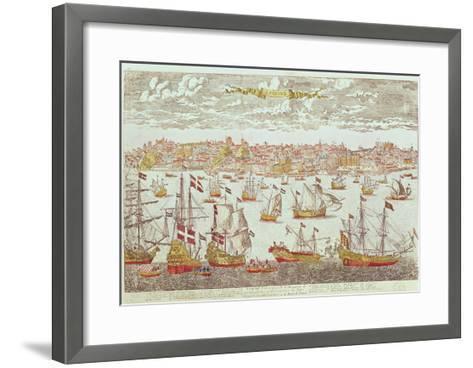 View of Lisbon--Framed Art Print