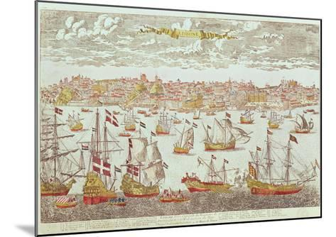 View of Lisbon--Mounted Giclee Print