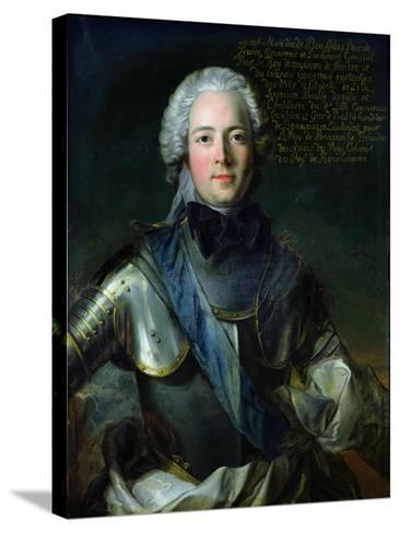 Joseph-Marie-Jean-Marc Nattier-Stretched Canvas Print