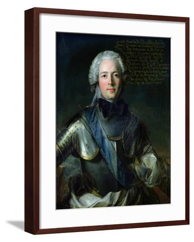 Joseph-Marie-Jean-Marc Nattier-Framed Art Print