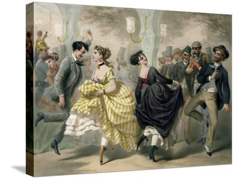 La Closerie de Lilas-Charles Vernier-Stretched Canvas Print