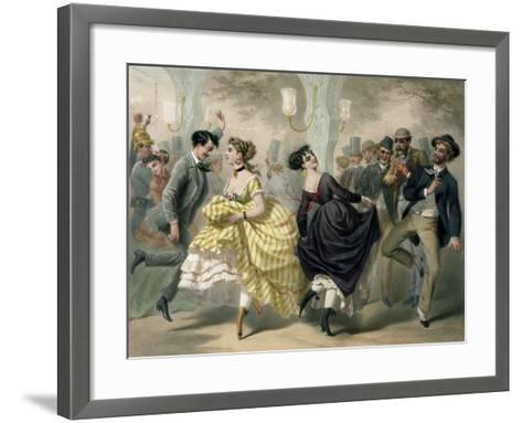 La Closerie de Lilas-Charles Vernier-Framed Art Print