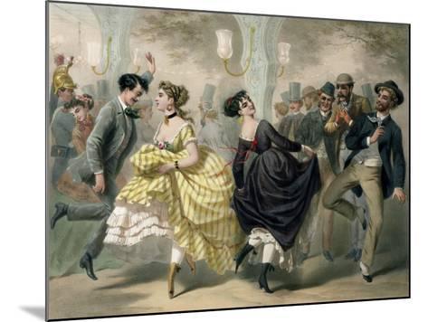 La Closerie de Lilas-Charles Vernier-Mounted Giclee Print