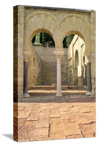 View of the Ruins--Stretched Canvas Print