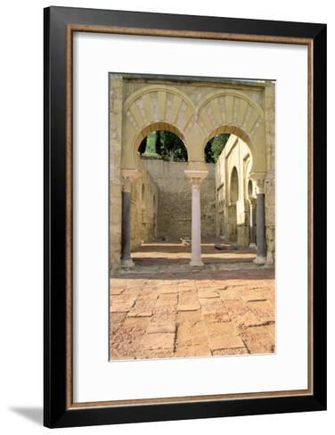 View of the Ruins--Framed Art Print