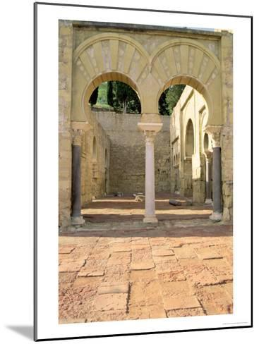 View of the Ruins--Mounted Giclee Print