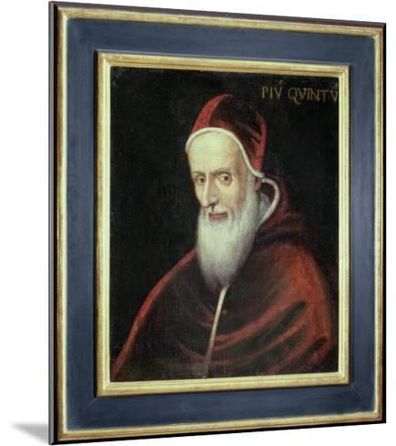 Portrait of Pope Pius V--Mounted Giclee Print