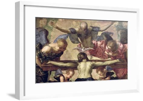 The Trinity-Jacopo Robusti Tintoretto-Framed Art Print