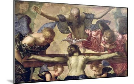 The Trinity-Jacopo Robusti Tintoretto-Mounted Giclee Print