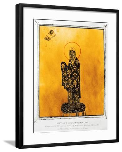 Alexius I Comnenus-Byzantine-Framed Art Print