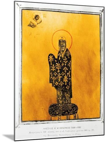 Alexius I Comnenus-Byzantine-Mounted Giclee Print
