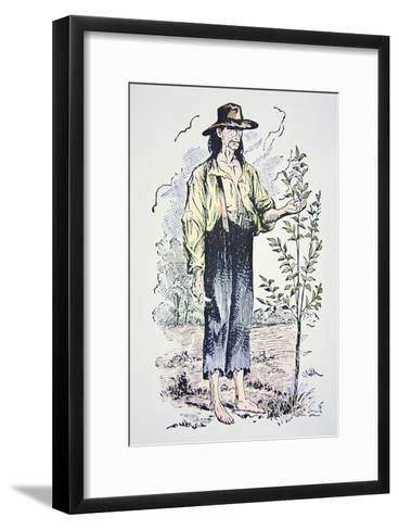 Johnny Appleseed--Framed Art Print