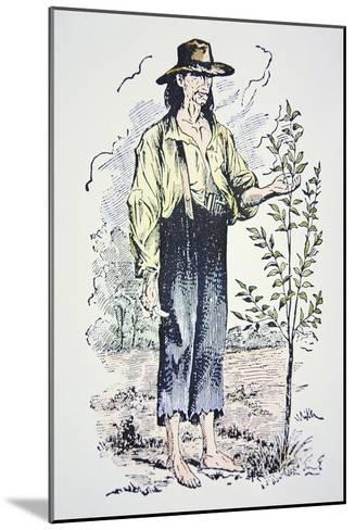 Johnny Appleseed--Mounted Giclee Print