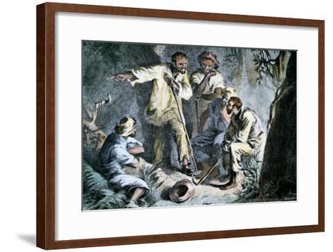 Nat Turner--Framed Art Print