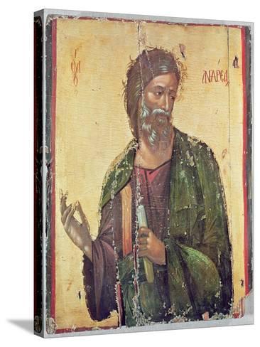 Icon Depicting St. Andrew--Stretched Canvas Print