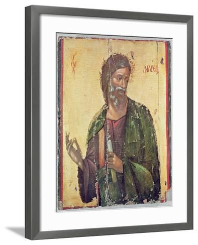 Icon Depicting St. Andrew--Framed Art Print
