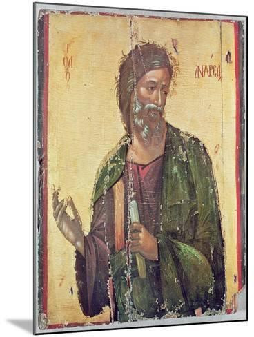 Icon Depicting St. Andrew--Mounted Giclee Print