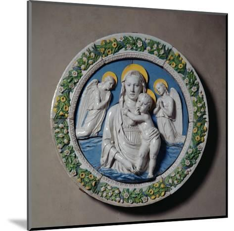 Virgin and Child-Luca Della Robbia-Mounted Giclee Print