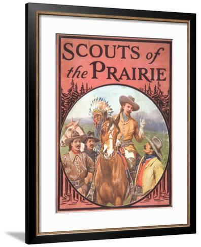 Scouts of the Prairie, c.1900--Framed Art Print
