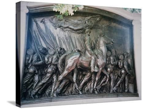 The Robert Gould Shaw-Augustus Saint-gaudens-Stretched Canvas Print
