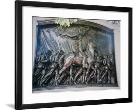 The Robert Gould Shaw-Augustus Saint-gaudens-Framed Art Print