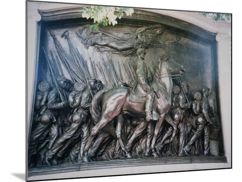 The Robert Gould Shaw-Augustus Saint-gaudens-Mounted Giclee Print