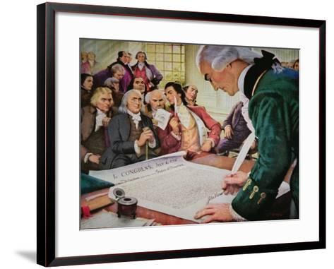 John Hancock--Framed Art Print