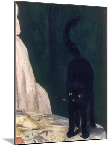 Olympia, 1863-Edouard Manet-Mounted Giclee Print