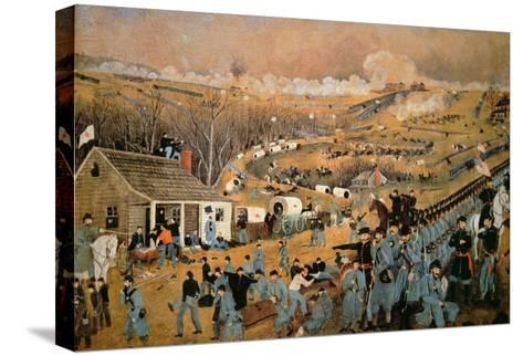 Battle of Fredericksburg, 1862-John Richards-Stretched Canvas Print