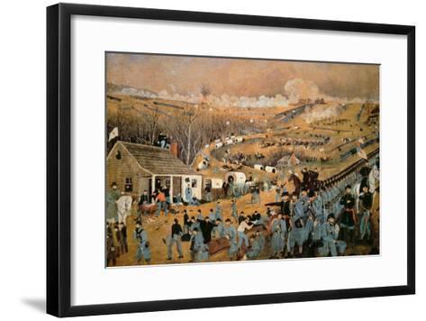 Battle of Fredericksburg, 1862-John Richards-Framed Art Print
