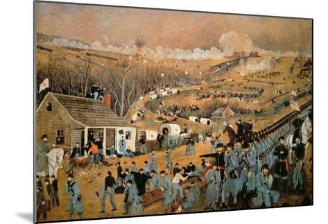 Battle of Fredericksburg, 1862-John Richards-Mounted Giclee Print