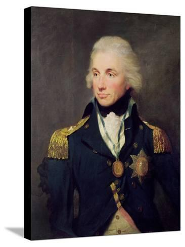 Portrait of Horatio Nelson-Lemuel-francis Abbott-Stretched Canvas Print