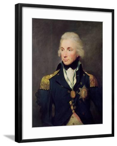Portrait of Horatio Nelson-Lemuel-francis Abbott-Framed Art Print