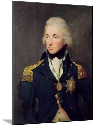Portrait of Horatio Nelson-Lemuel-francis Abbott-Mounted Giclee Print