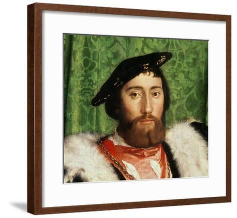 The Ambassadors, 1533-Hans Holbein the Younger-Framed Art Print