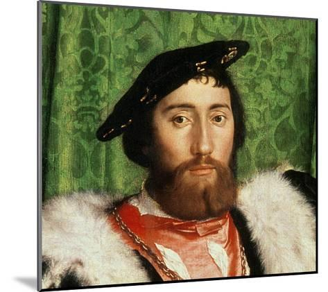The Ambassadors, 1533-Hans Holbein the Younger-Mounted Giclee Print