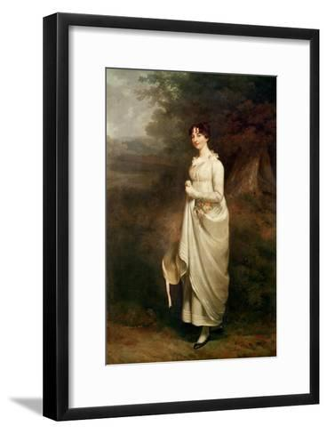 Portrait of Maria. B. Fox-Sir William Beechey-Framed Art Print