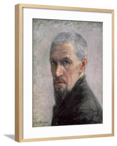 Self Portrait, c.1889-Gustave Caillebotte-Framed Art Print