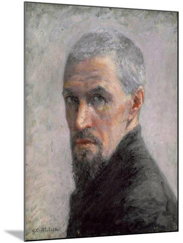 Self Portrait, c.1889-Gustave Caillebotte-Mounted Giclee Print
