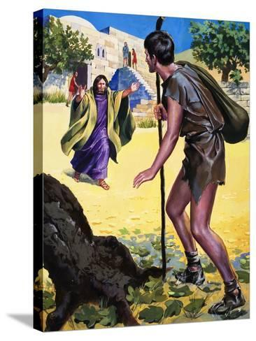 The Parable of the Prodigal Son--Stretched Canvas Print