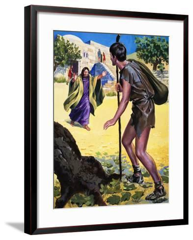The Parable of the Prodigal Son--Framed Art Print