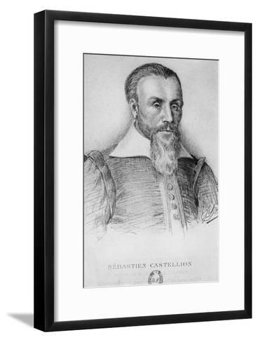 Sebastien Castellion-Jean Paul Laurens-Framed Art Print