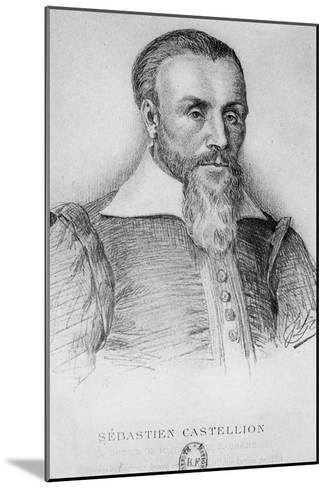 Sebastien Castellion-Jean Paul Laurens-Mounted Giclee Print