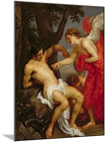 Saint Sebastian and the Angel-Sir Anthony Van Dyck-Mounted Giclee Print