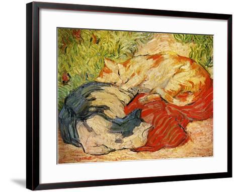 Cats, 1909-10-Franz Marc-Framed Art Print