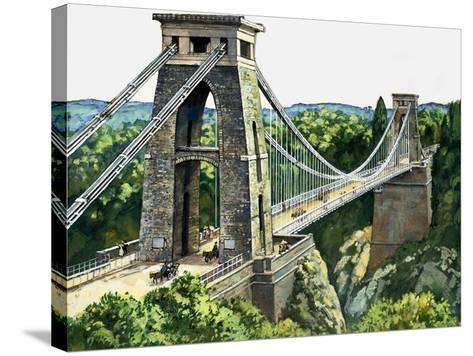 Clifton Suspension Bridge--Stretched Canvas Print