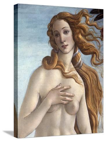 The Birth of Venus, c.1485-Sandro Botticelli-Stretched Canvas Print