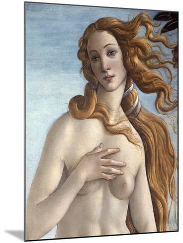 The Birth of Venus, c.1485-Sandro Botticelli-Mounted Giclee Print