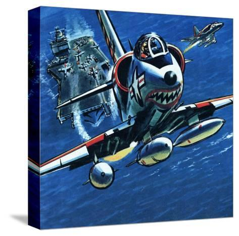 Take Off--Stretched Canvas Print