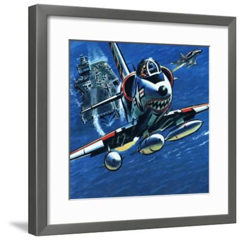 Take Off--Framed Art Print